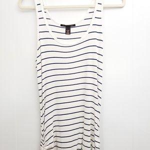 Victoria's Secret   Long Striped Maxi Dress Sz M